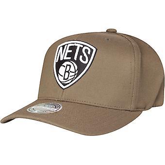 Mitchell & Ness 110 Flexfit Snapback Cap Brooklyn Nets Oliivi