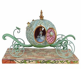 Disney Traditions Enchanted Carriage Cinderella Figurine