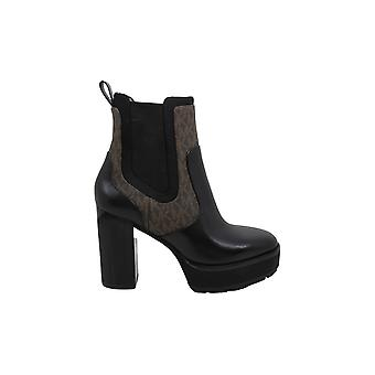 Michael Michael Kors Womens cramer bootie Leather Almond Toe Ankle Fashion Bo...