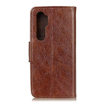 For OnePlus Nord Nappa Texture Horizontal Flip Leather Case with Holder & Card Slots & Wallet(Brown)
