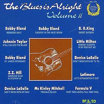 Blues Is Alright - Vol. 2-Blues Is Alright [CD] Importaciones de EE. UU.