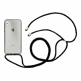 Custodia Aquarius per iPhone 6/6s con cavo collana nero