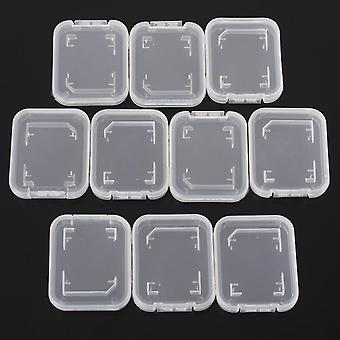 Transparent Standard For Sd Sdhc Memory Card Case Holder Box Storage Boxes