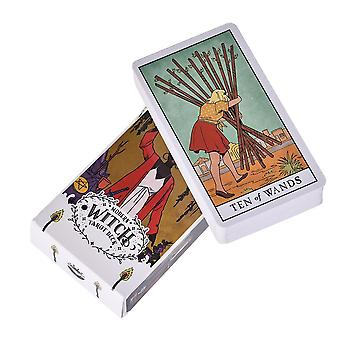 Den moderne heks Tarot Deck Oracle Cards