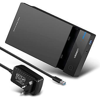 Amoy USB 3.0 Enceinte externe de disque dur 3.5'' SATA HDD SSD 16To Max