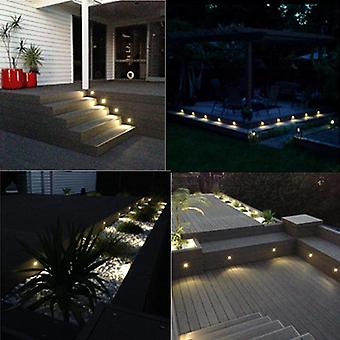 Half Moon Shape, Led Lights Lamps For Outdoor Garden, Yard, Fence And Stair