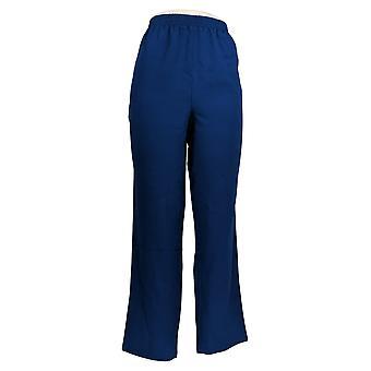 Bob Mackie Women's Pants Pull On Sweatpants Blue A303006