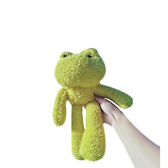 Funny Plush Green Frog Doll Slender Hanging Feet Animal Doll Frog As A Gift For Friends