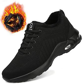 Breathable Safety Boots With Steel Toe Cap, Indestructible Shoes