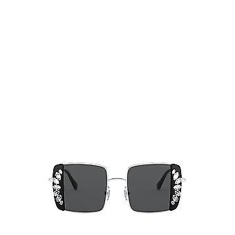 Miu Miu MU 56VS silver / black female sunglasses