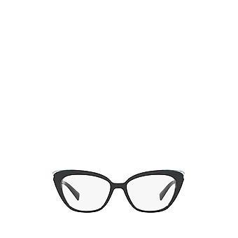 Tiffany TF2184 crystal blue on black female eyeglasses