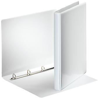 Esselte 49700 Essentials Presentation Binder 4 O Ring 16mm Capacity White