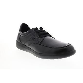 Geox U Leitan  Mens Black Euro Sneakes Shoes