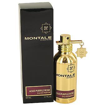 Montale Aoud Purple Rose Eau De Parfum Spray (Unisex) By Montale 1.7 oz Eau De Parfum Spray