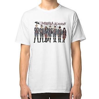Umbrella Academy Group T-paita Tua