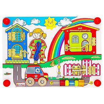 "Alatoys Wooden  Busyboard ""Sunny day"""