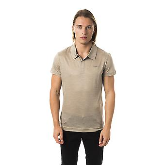 Byblos Hombres's Polo Camisa Gris BY997150