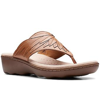 Clarks Phebe Pearl Womens Toe Post Sandals