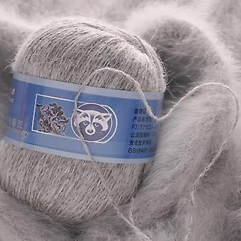 Hilo de lana de terciopelo de visón suave de alta calidad para tejer a mano