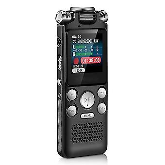 Digital Audio Voice Recorder Pen, Mini Lossless Activated Sound Dictaphone