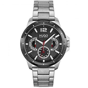 HUGO 1530195 Sport Black & Silver Men's Watch
