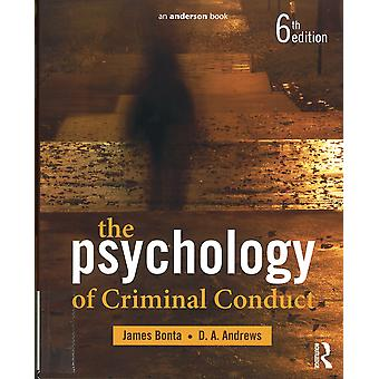 The Psychology of Criminal Conduct Paperback - 30 Nov. 2016