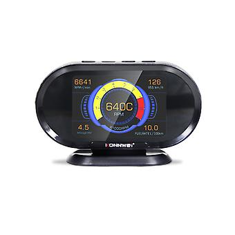 Hud 3.5in hud head up display car speedometer obdii smart digital trip