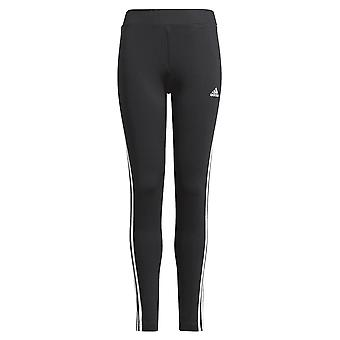 Adidas Girls Designed 2 Move 3-stripes Tight