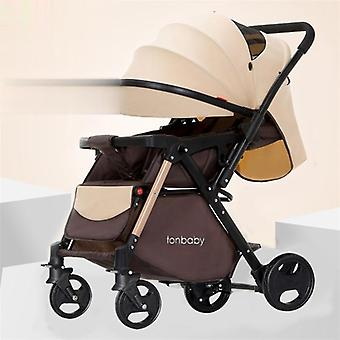 Smart Stroller Light Baby With Music Newborn Umbrella Carriage Portable Fold