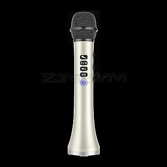 L-698dsp 20w بلوتوث ميكروفون لاسلكية محمولة يدوياً كاريوكي ميكروفون USB مصغرة ktv المنزل للموسيقى professiona المتكلم