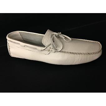 Мужская обувь Florsheim Мокасин Трубчатая кожа Белый Перевернутая серия 05