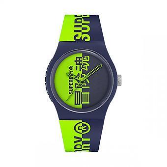 Herreur Superdry SYG346UN - Grøn Silikone armbånd