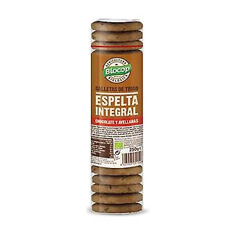 Chocolate hazelnut spelt wholemeal cookies 250 g