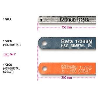 Beta 017280010 1728 Bm 300Mm lames pour scie à métaux cadres