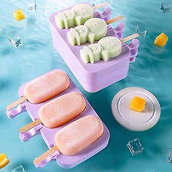 Creative modern style ice sickle lolly molds