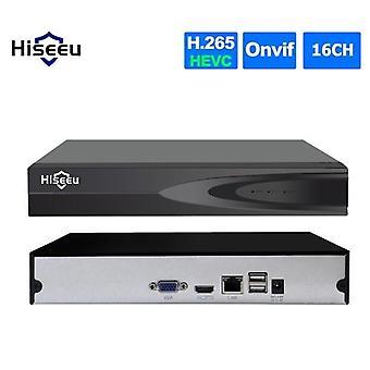 16CHチャンネルフルHD 1080P NVRネットワークビデオレコーダーサポートオンビフP2Pモーション検出