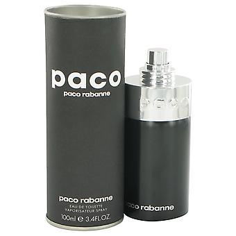 PACO Unisex by Paco Rabanne Eau De Toilette Spray (Unisex) 3.4 oz