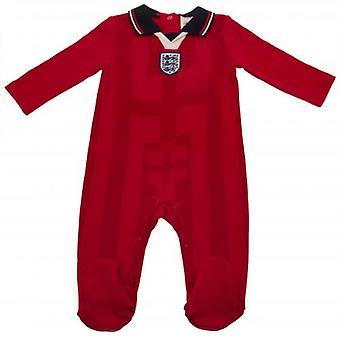 England FA Sleepsuit 98 Retro 6-9 Months