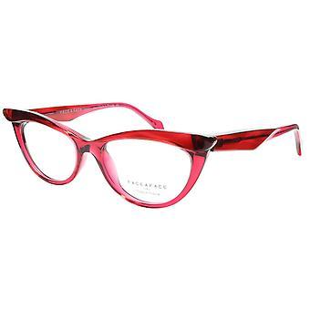 Face A Face Eyeglasses Frame Ebony 4 3031 Acetate Rouge Cateye 50-16-135 31