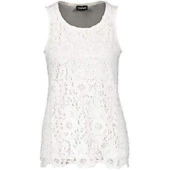 Taifun 571065-16057 T-Shirt, White, L Woman