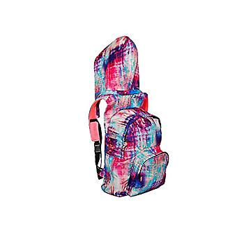MorikukkoMorikukko Hooded Backpack Kool TiedyeUnisex - AdultZainiMulticolore (Kool Tiedye)33x8x40 Centimeters (W x H x L)