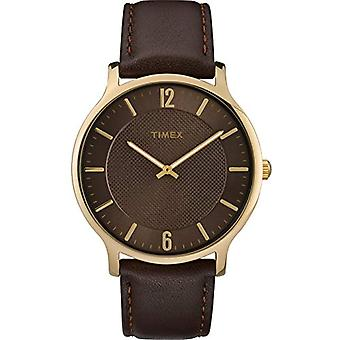 Timex Analogueic Watch Men's Quartz with Leather Strap TW2R49800