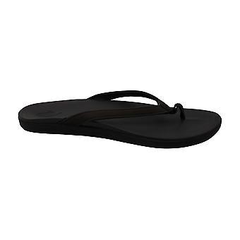 OLUKAI Women's Ho'Opio Sandals Dark Java/Dark Java 7 M US