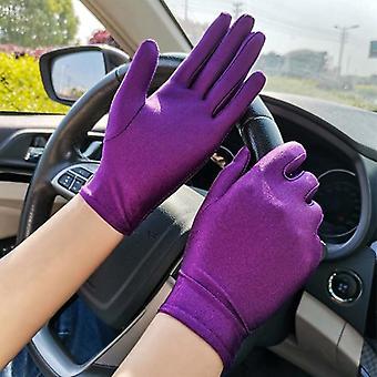 Fashion Summer Spandex Gloves Men Women Sunscreen Driving