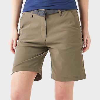 Brasher Women's Stretch Shorts Green