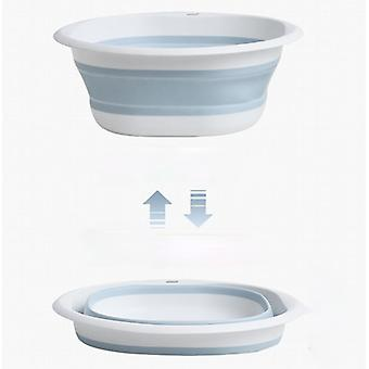 Folding Wash Basin Plastic Folding Basins Portable Wash Basins Folding Laundry Tub Bathroom Kitchen AccessoriesTravel Three Size Models