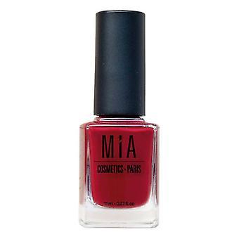 Neglelakk Mia Kosmetikk Paris Garnet (11 ml)