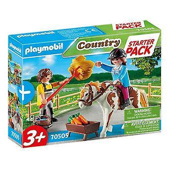 Playset Country Starter Pack Farm Playmobil 70505 (19 pcs)