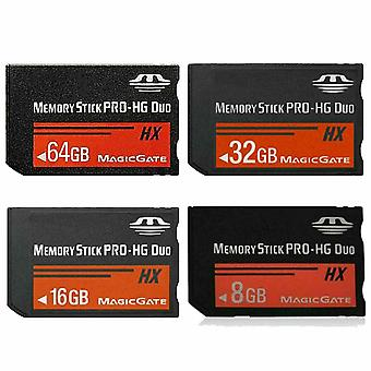 Memory Stick Ms Pro, Duo Full Real Capacity, Hx Game Card, Pre-installed