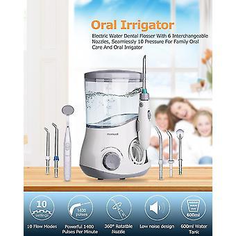 Eu plug oral irrigator dental water flosser irrigator flosser water jet irrigator for dental fa0469